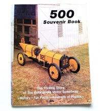 500 SOUVINIR BOOK : THE THRILLING STORY OF THE INDIANAPOLIS MOTOR SPEEDWAY (1980)